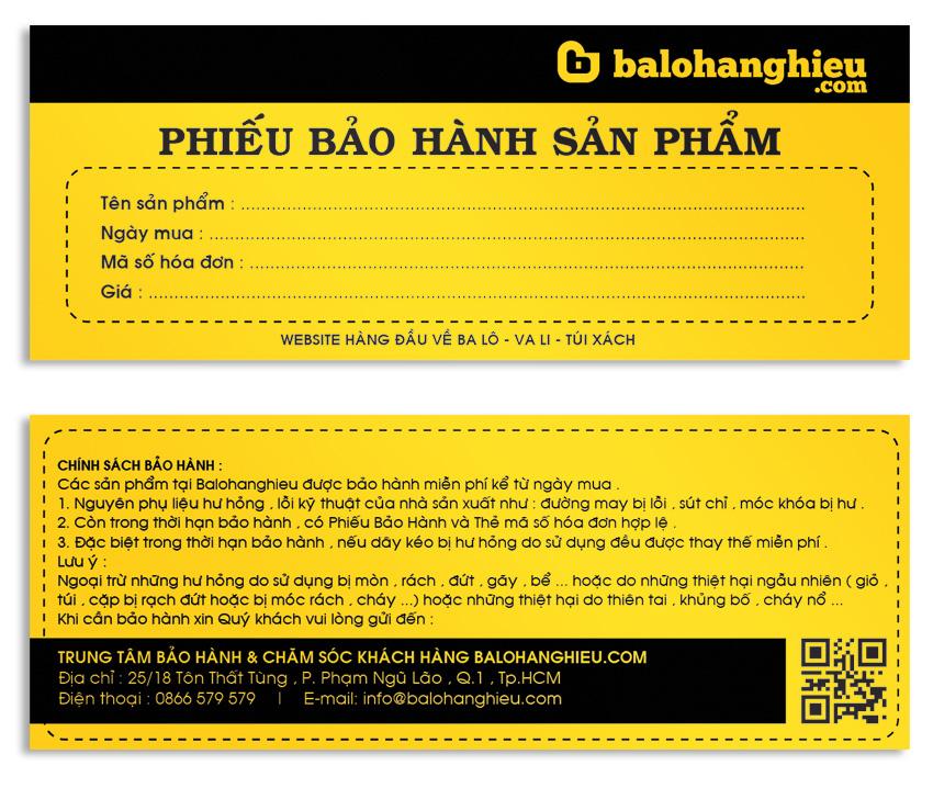 in phieu bao hanh